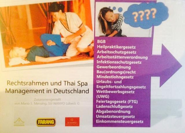Broschüre Rechtsrahmen für die Thai Massage in Deutschland / Thai ...