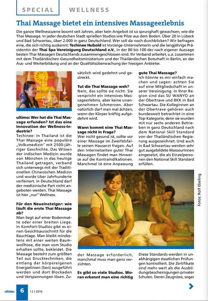 Interview Thai Massage mit Techinee Hubold Stadtmagazin Ultimo 1